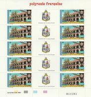 LOT 2060 POLYNESIE N° PA 196 FEUILLE DE 10 EX ** - Polinesia Francese