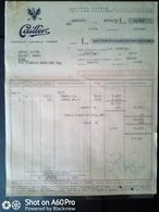 FATTURA COMMERCIALE (CACAO) - CAILLER, SOCIETÀ NESTLÉ - MILANO 1955 - Italy