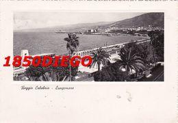 REGGIO CALABRIA - LUNGOMARE VIAGGIATA 1950 - Reggio Calabria