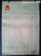 FATTURA COMMERCIALE (RITZ) - MOTTA - MILANO 1955 - Italy