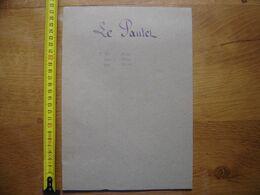 1833 Ancien Acte Manuscrit Proces Verbal BORNAGE Le Pautel TIL CHATEL 21 - Manoscritti