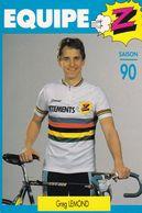 Cyclisme  - EQUIPE Z - Greg LEMOND - Cycling