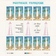 LOT 2063 POLYNESIE N° 302 FEUILLE DE 10 EX ** - Polinesia Francese