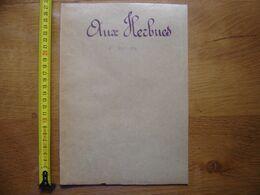 1862 Ancien Acte Manuscrit Proces Verbal BORNAGE Aux Herbues TIL CHATEL 21 - Manoscritti