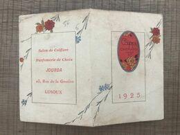 Calendrier 1925 Cappi CHERAMY PARIS - Formato Piccolo : 1921-40
