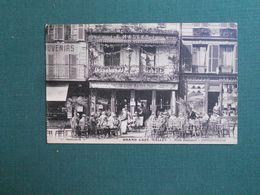 CPA FONTAINEBLEAU GRAND CAFE MALLET PLACE DENECOURT  NEUVE SUPERBE - Fontainebleau