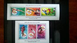 Guinea Olympic Barcelona Summer 1992 2 Blocks MNH** - Summer 1992: Barcelona
