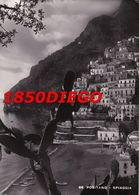 POSITANO - SPIAGGIA  F/GRANDE  VIAGGIATA 1950 - Salerno