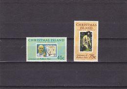 Christmas Nº 318 Al 319 - Christmas Island