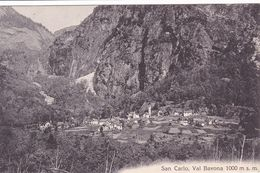 162/ San Carlo, Val Bavona 1000 Msm - TI Tessin