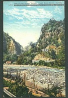 MERANO And Castle Montebruno  In LANA, ITALY; VF Not Used Postcard #M723 - Bolzano (Bozen)