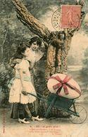 Bergeret * 2 CPA 1905 * Oh ! Le Gros Oeuf ! * N°2 Et N°6 * Série * Pâques * - Bergeret