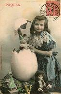 Bergeret * 1904 * PÂQUES * Oeuf Poupées Dolls * Paques - Bergeret