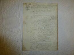 17 La Rochelle 1829 Procès Deux Marchandes De Poissons Salé (Léris, Le Tellier) UNIQUE, Ref 1941 ; VP 11 - Historical Documents