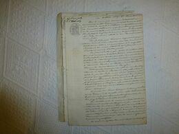 17 Saint-Marc 1829 Procès Mairie C/ Levesque, Chemin Vicinal, UNIQUE, Ref 1942 ; VP 11 - Historical Documents