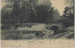 Lembecq   Le Canal   -   1905   Naar   Liège - Halle