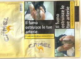 CAMEL CIGARETTE TOBACCO TABACCO PER SIGARETTA ITALY  SIGARETTE - Boites à Tabac Vides