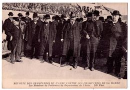 7500 JD - Révolte Des Champenois De L'Aube Et Des Champenois De La Marne ( Membres Du Département De L'Aube ) - N.D. - - Ereignisse