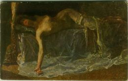 GIUSEPPE AMISANI - ABANDON - NAKED / NUDE / NU  WOMAN - 1910 ( BG1548) - Illustratoren & Fotografen