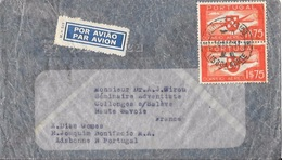 PORTUGAL To FRANCE Cover With Airmail Issue 1$75 - 1910-... République