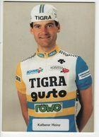 KALBERER HEINZ   TIGRA GUSTO 1988 - Cycling