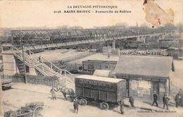 Thème  Automobile   Véhicule Hippomobile Déménagement Flageul 22 St Brieuc    (voir Scan) - Camion, Tir
