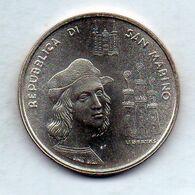 SAN MARINO, 500 Lire, Silver, Year 1983, KM #154 - San Marino