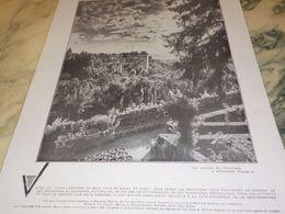 ANCIENNE PUBLICITE VISITEZ L ESPAGNE A GRENADA  1930 - Pubblicitari