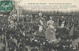 08 - 2020 - NORD - 59 - VALENCIENNES - Marché Des Géants- Cortège Historique Légendaire - Valenciennes