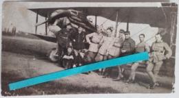 1916 1918 Aviation Pilotes Insignes Aviateurs Avion Spad VII  Poilus Tranchée WW1 14 18 1WK  Photo - War, Military