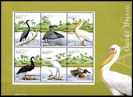 (025) Guinea Bissau  Animals / Animaux / Birds / Oiseaux / Vögel / Vogels ** / Mnh  Michel BL 375 - Guinea-Bissau