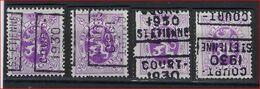 Zegel Nr. 281 Voorafgestempeld Nr. 5876  A + B + C + D   COURT ST ETIENNE 1930  ; Staat Zie Scan ! Inzet Aan 15 €  ! - Precancels