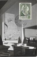 PORTUGAL - MAXIMUM CARD Exposição Do Mundo Português LAST DAY $25 - 1910-... République