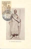 PORTUGAL - MAXIMUM CARD Exposição Do Mundo Português LAST DAY $40 - 1910-... République