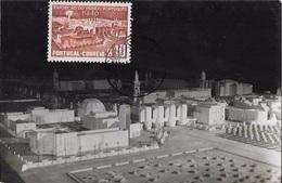 PORTUGAL - MAXIMUM CARD Exposição Do Mundo Português LAST DAY $10 - 1910-... République