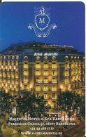 SPAGNA KEY HOTEL  Hotel Majestic & Spa Barcelona - Farm To Table - Chiavi Elettroniche Di Alberghi