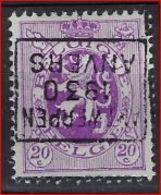 Zegel Nr. 281 Voorafgestempeld Nr. 5865 In Positie D  ANTWERPEN 1930 ANVERS  ;  Staat Zie Scan ! - Precancels