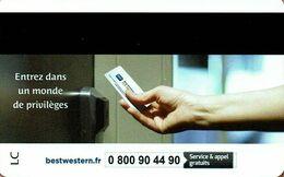 FRANCIA KEY HOTEL Best Western Rewards - Bestwestern.fr 0 800 90 44 90 - Chiavi Elettroniche Di Alberghi