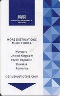 UNGHERIA KEY HOTEL   Danubius Hotels Group - Chiavi Elettroniche Di Alberghi