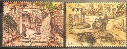Kosovo, 2020, Europa Stamps - Ancient Postal Routes (MNH) - Kosovo