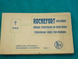 ROCHEFORT - ABBAYE SAINT REMY - CARNET 14 CP COMPLET TTBE - Rochefort