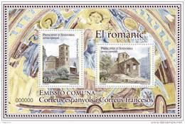 ANDORRA ESPAÑOLA 2010 - EL ROMANIC - BLOCK - EDIFIL Nº 379 - Unused Stamps