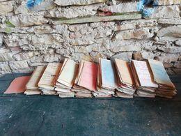 Gros Lot De Documents Annnees 50 A 70 - Timbri Generalità
