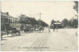 PARIS (75) – La Porte De Saint-Cloud. Editeur C.M. N° 590. - Paris (16)