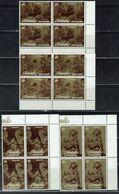 AITUTAKI 1981 REMBRANDT BLOCK OF 4 MI No 428-31 MNH VF!! - Rembrandt