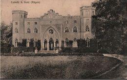 ! Alte Ansichtskarte Carnitz Bei Garz Auf Insel Rügen, Gutshaus, Herrenhaus, Mecklenburg Vorpommern, 1916 - Ruegen