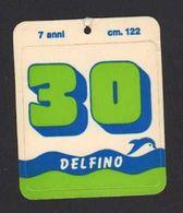 Stikers Delfino Abbigliamento Sportivo Etichetta Sportswear Vêtements De Sport FAS00067 - Sammelbilder, Sticker