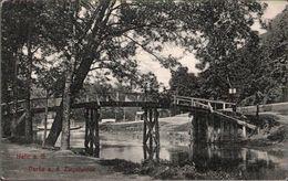 ! Alte Ansichtskarte Halle A.d. Saale, Brücke, Ziegelwiese, 1907 - Halle (Saale)