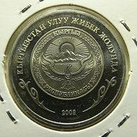 Kyrgyzstan 1 Som 2008 Proof - Kirgizië
