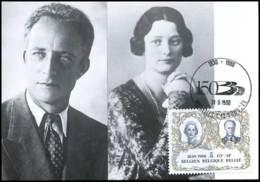 1981 - MK - Koning Leopold III En Koningin Astrid - Cartes-maximum (CM)